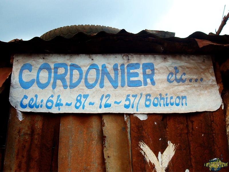 Cordonier etc ... Bohicon - Bénin