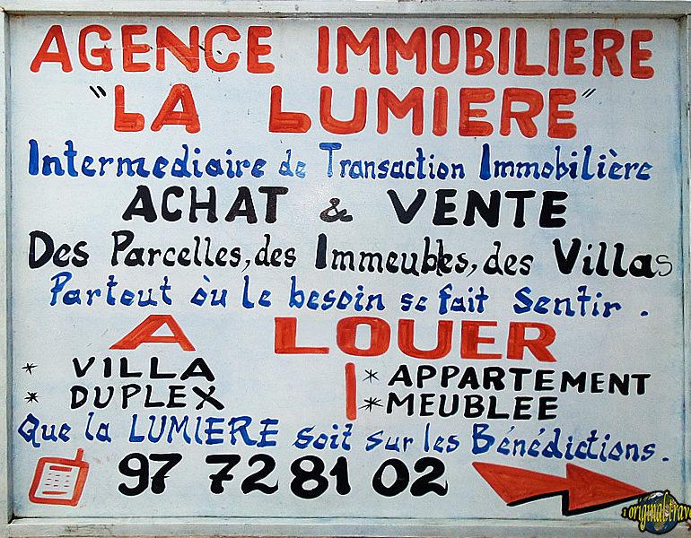 Immo La Lumière – Bénin