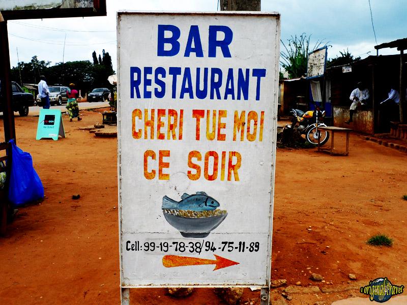 Bar Restaurant Cheri Tue Moi ce Soir - Comé - Bénin