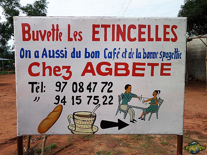 Buvette le Etincelles - Chez Agbete - Porto Novo - Bénin