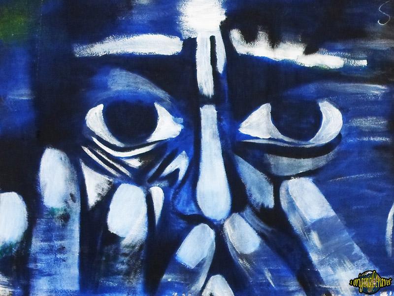 Peinture Graffitis - Fidjerossé - Cotonou - Bénin