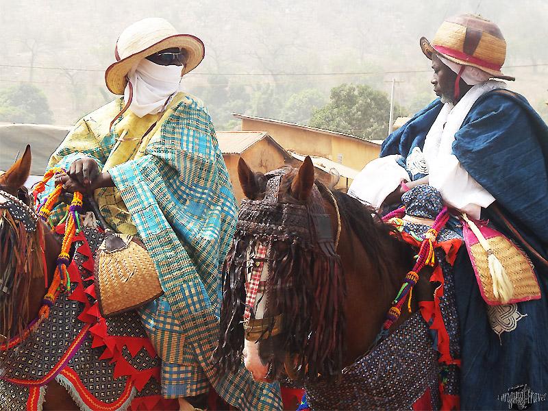Prince Coutumier Traditionnel - Fête de la Gani - Nikki - Bénin