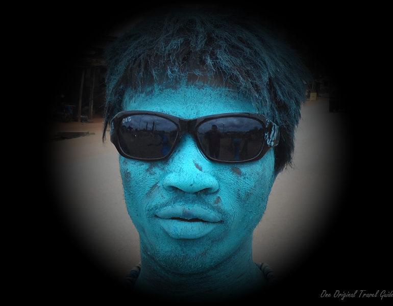 L'Homme Bleu – Bénin