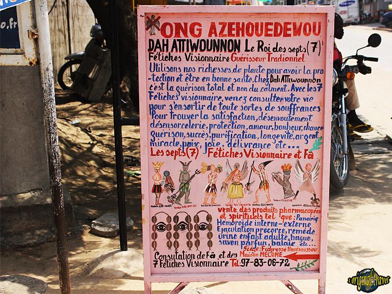 Ong Dah Attiwounnon - Le Roi des 7 - Cotonou - Bénin