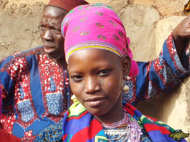 Jeune Fille Peulh - Fête de la Gani - Nikki - Bénin