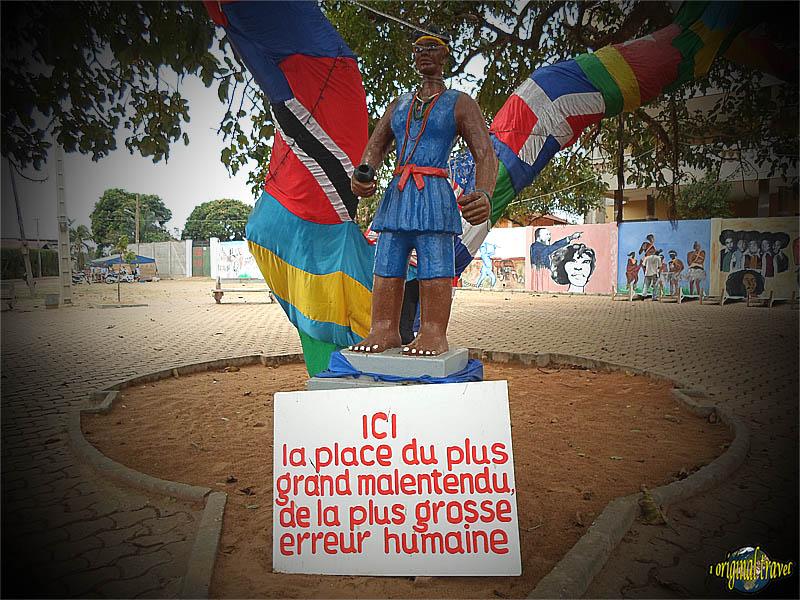Place du Grand Malentendu - Ouidah - Bénin