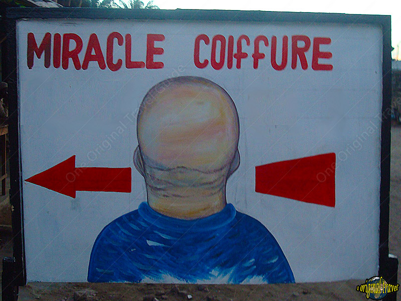 Miracle Coiffure - Comé - Bénin - One Original Travel Guide