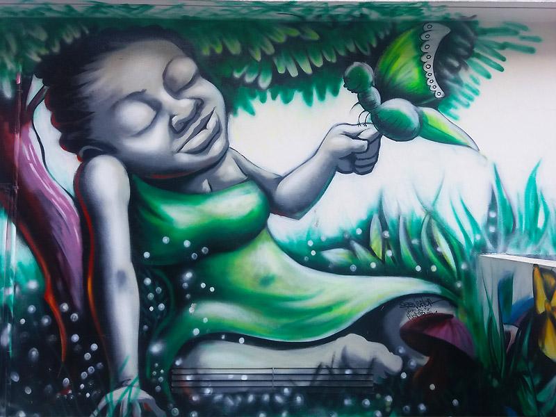 Art Graffittis au CCF de Cotonou - Bénin - One Original Travel Guide