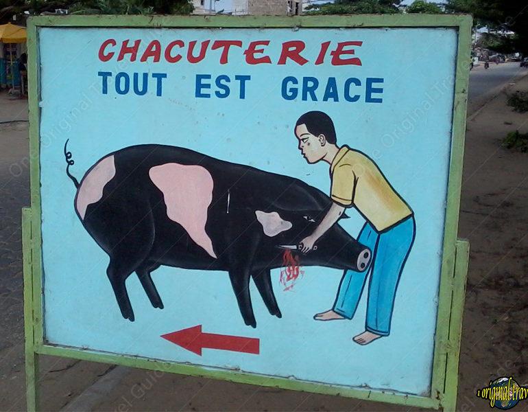 Chacuterie Tout est Grâce – Cotonou