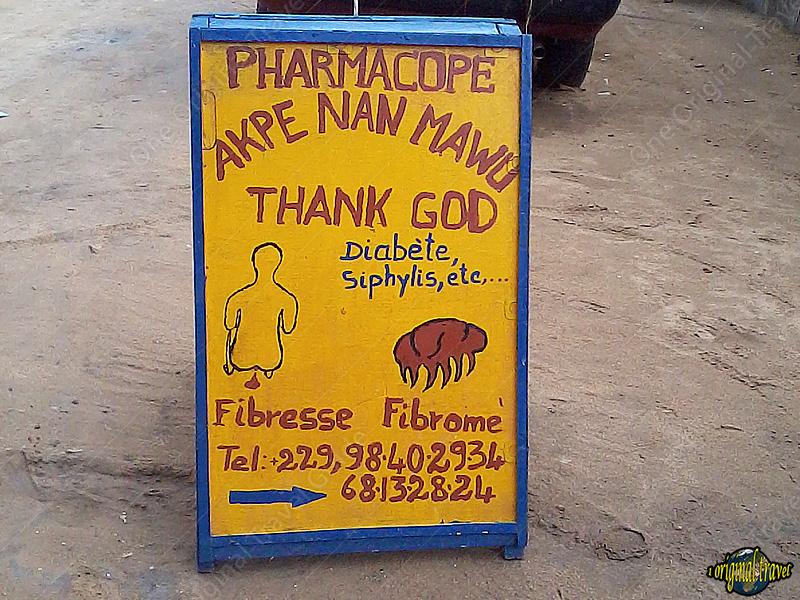 Pharmacopée Akpe Nan Mawu Thank God - Cotonou - Bénin