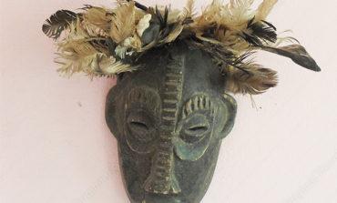 Masque à plumes-Ouidah