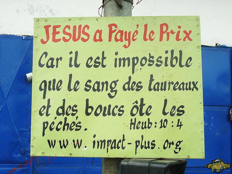 Jésus a payé le Prix Car il est impossible que le sang des taureaux et des boucs ôte les péchés