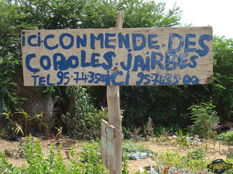 Ici Commende des Coroles - Jairbes - Cotonou - Bénin
