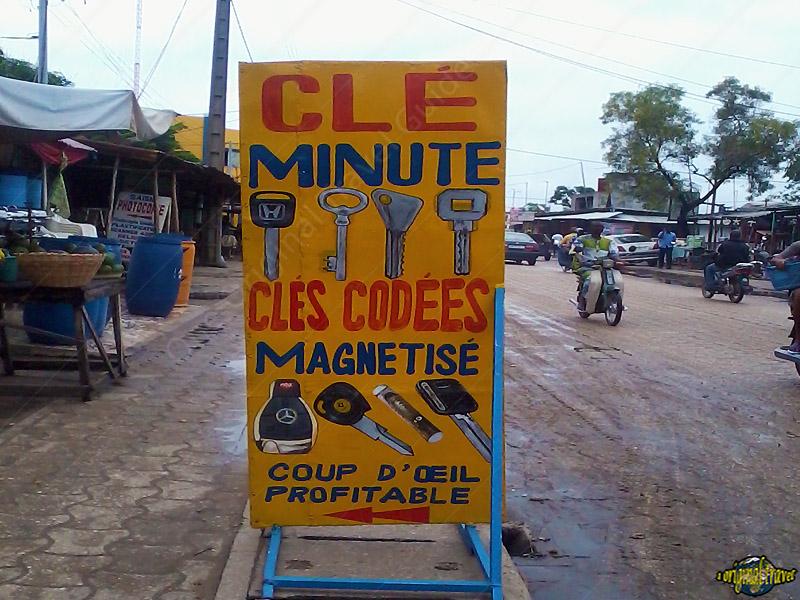 Clé Minute - codées - magnetisé - Cotonou - Bénin