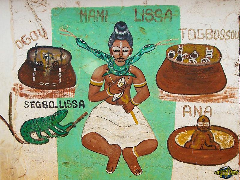 Fétiche - Mami Lissa - Ouidah - Bénin - One Original Travel Guide