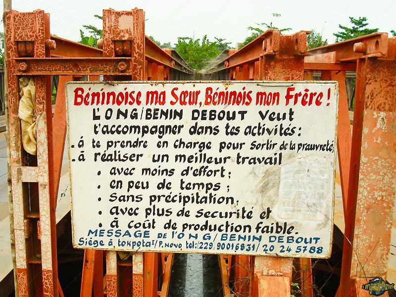 ONG Bénin Debout veut t'accompagner .... Porto-Novo - Bénin