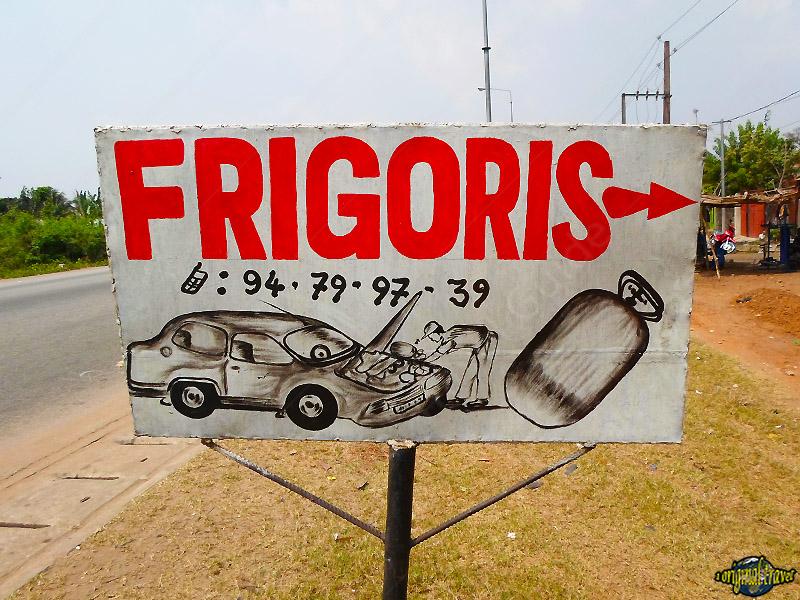 Frigoriste Voiture - Chez Frigoris - Porto-Novo - Bénin