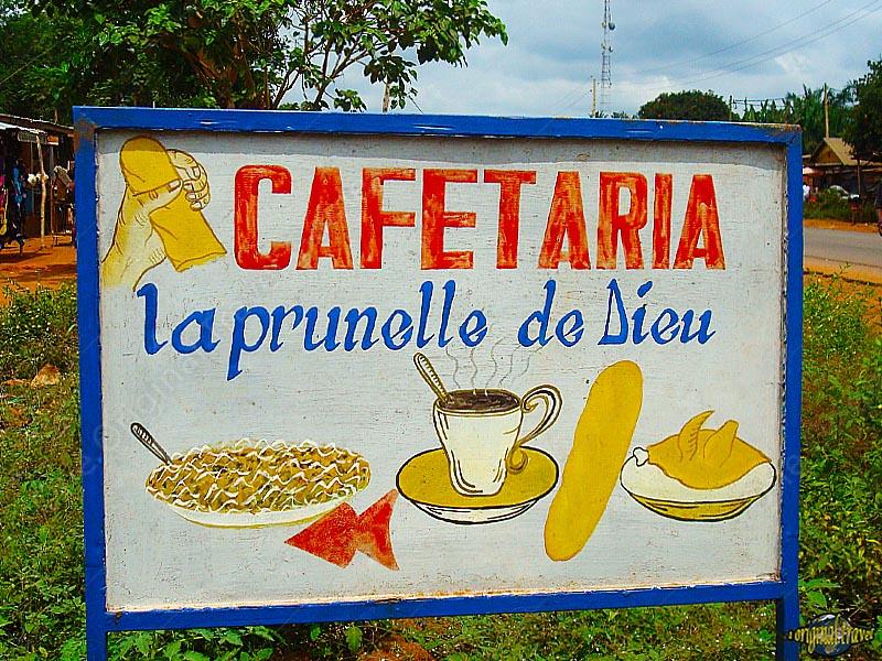 Cafetaria - La Prunelle de Dieu - Porto Novo - Bénin