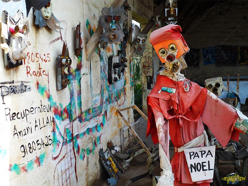 Kpalim'art - Papa Noel - Récupérateur Anani - Kpalimé - Togo