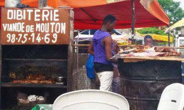 """Maquis """" Dibiterie - Viande Mouton """" Cotonou"""