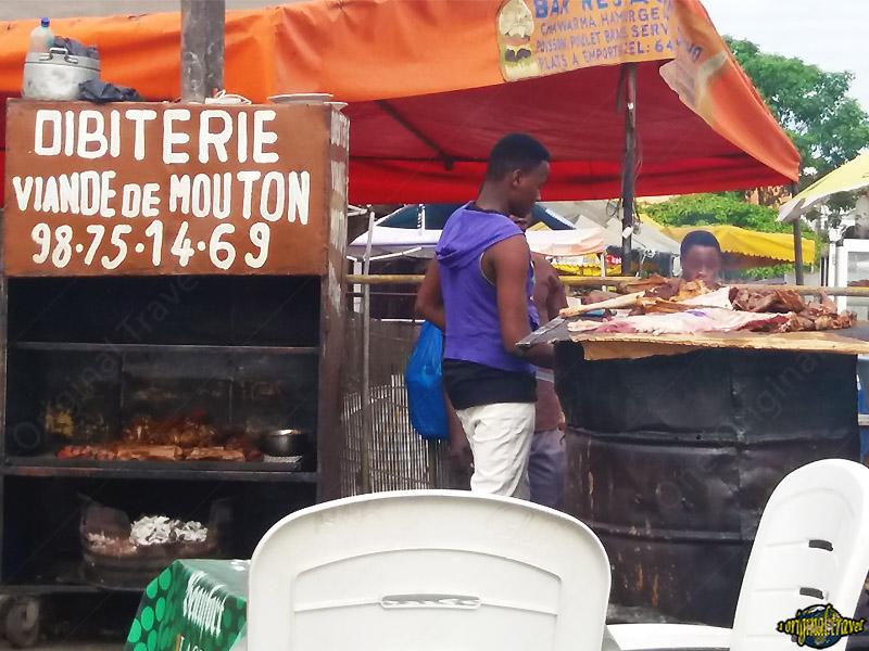 Maquis - Dibiterie - Viande de Mouton - Cotonou - Bénin