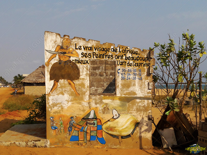Le Vrai Visage de l'Afrique - Artiste Peintre - Togbin - Cotonou - Bénin - Photos Images - One Original Travel in Africa - Photos Benin