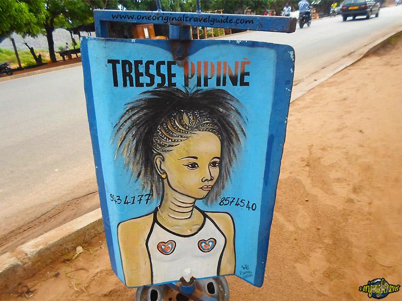 Salon de Coiffure - Tresse Pipine - Lomé - Togo