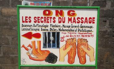 """ONG """"Les secrets du Massage"""" Fidjerossé Houénoussou - Cotonou"""