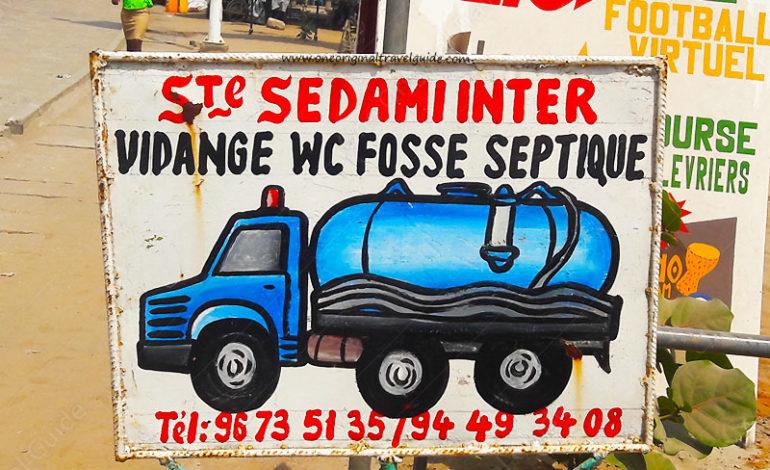 """""""Sté Sedami Inter"""" Vidange WC fosse septique - Cotonou"""