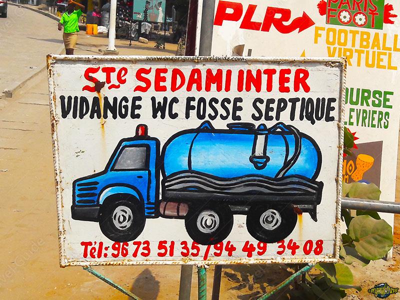Ste Sedami Inter - Vidange Fosse - Cotonou - Bénin