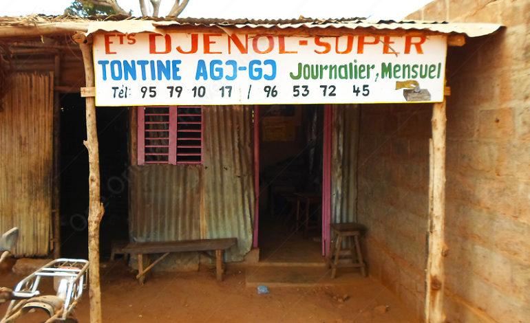 "Ets ""djenol-super"" tontine-journalier-mensuel - Comé - Bénin"